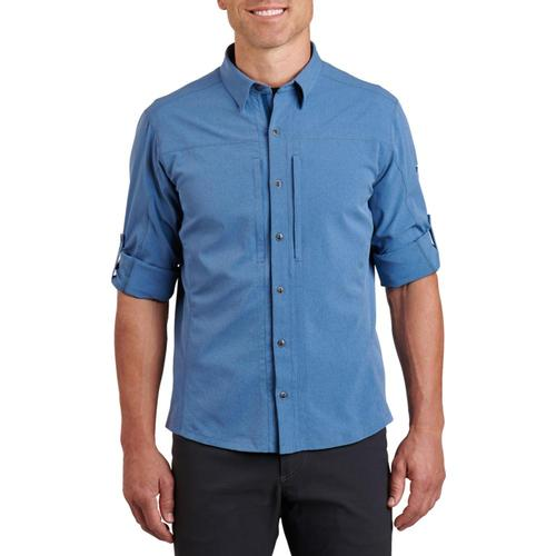 KUHL Men's ExpeditionAir Long Sleeve Shirt Waterfront