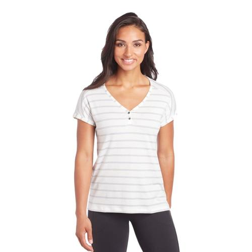 KUHL Women's Lisette Short Sleeve Shirt White