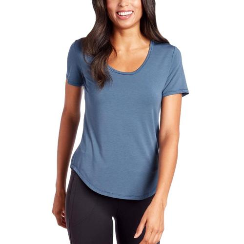 KUHL WomenÕs Venture Short Sleeve Shirt Rainstorm