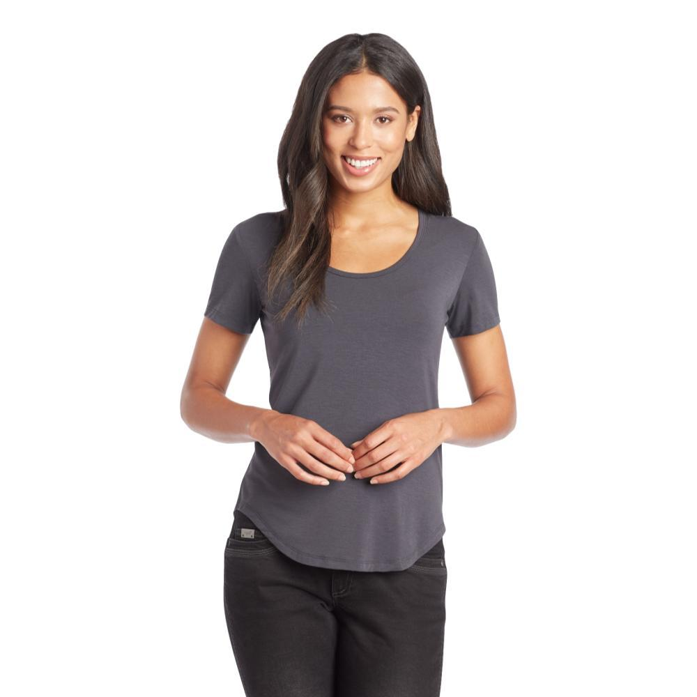 KUHL WomenÕs Venture Short Sleeve Shirt SHADOW