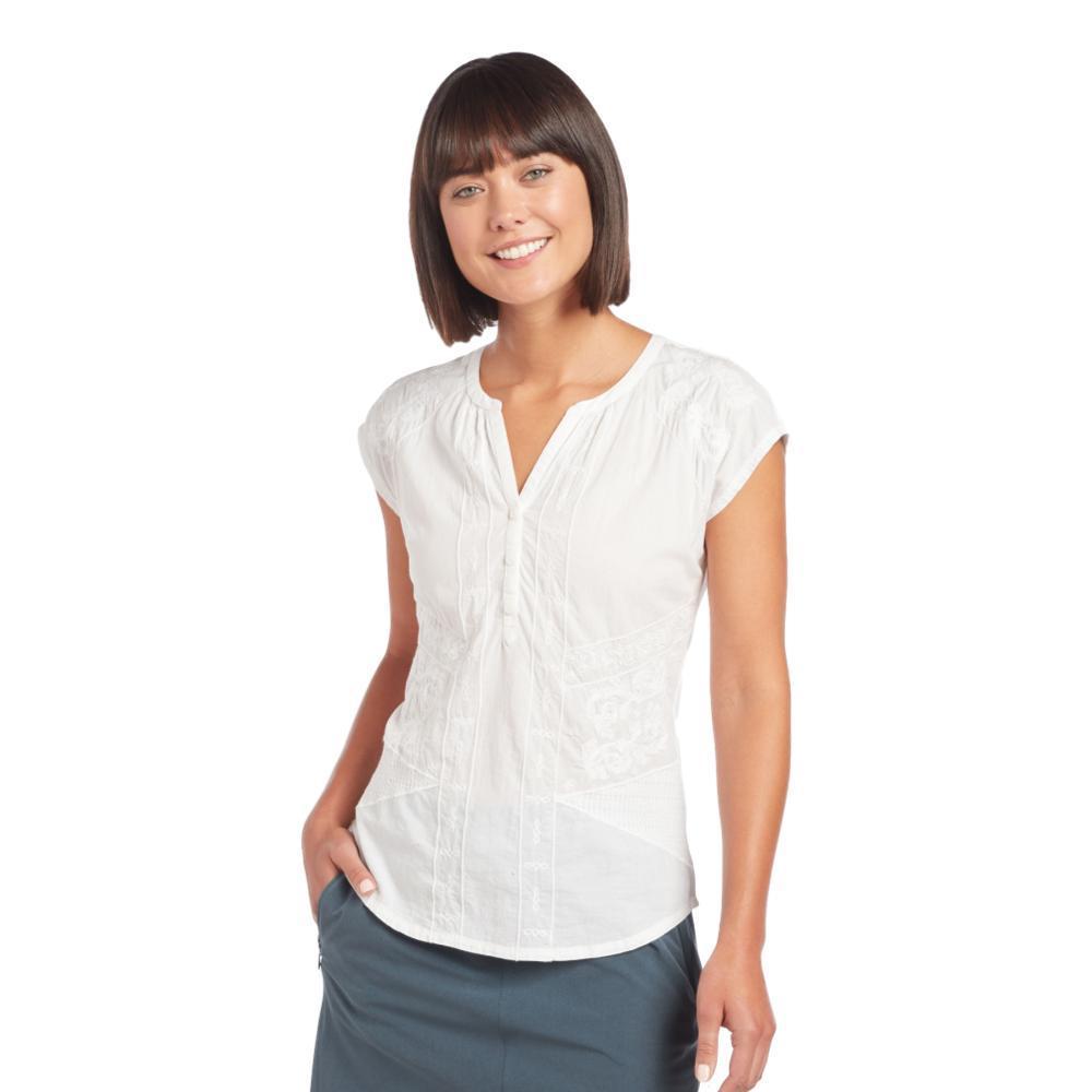 KUHL Women's Amelie Short Sleeve Shirt WHITE