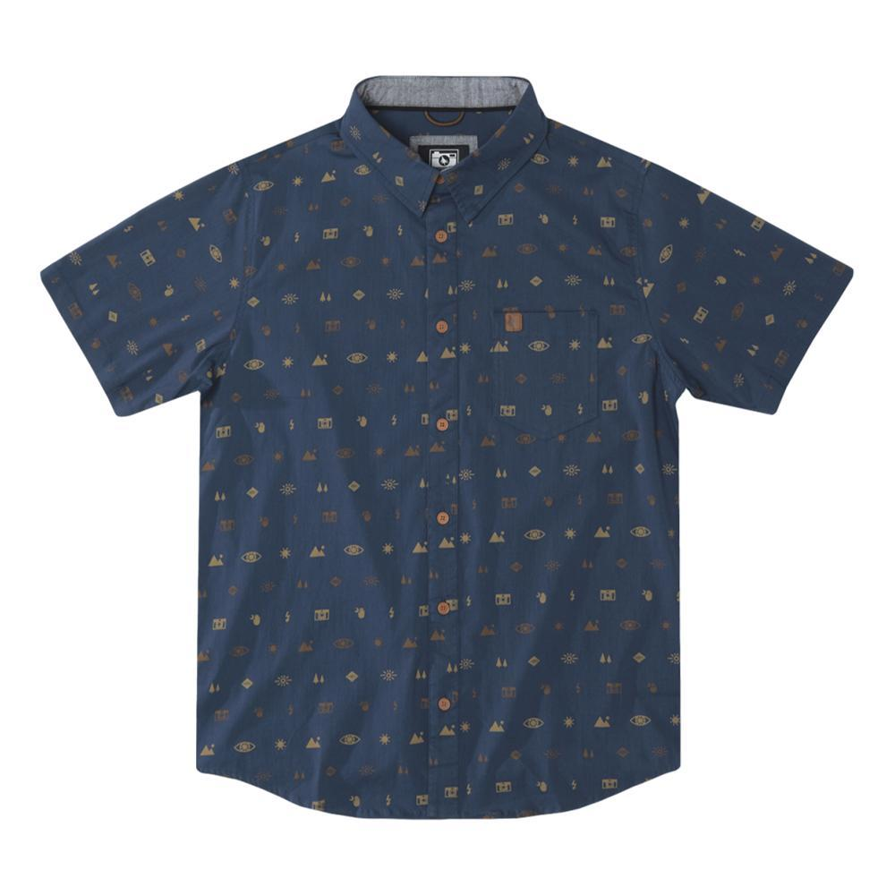 HippyTree Men's Settings Shirt NAVYICON