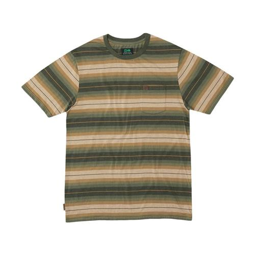 HippyTree Men's Cold Creek Knit Tee Hthrarmy