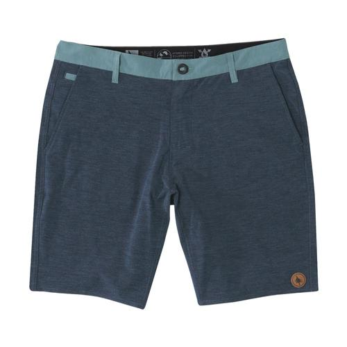 HippyTree Men's Basin Hybrid Shorts Navy