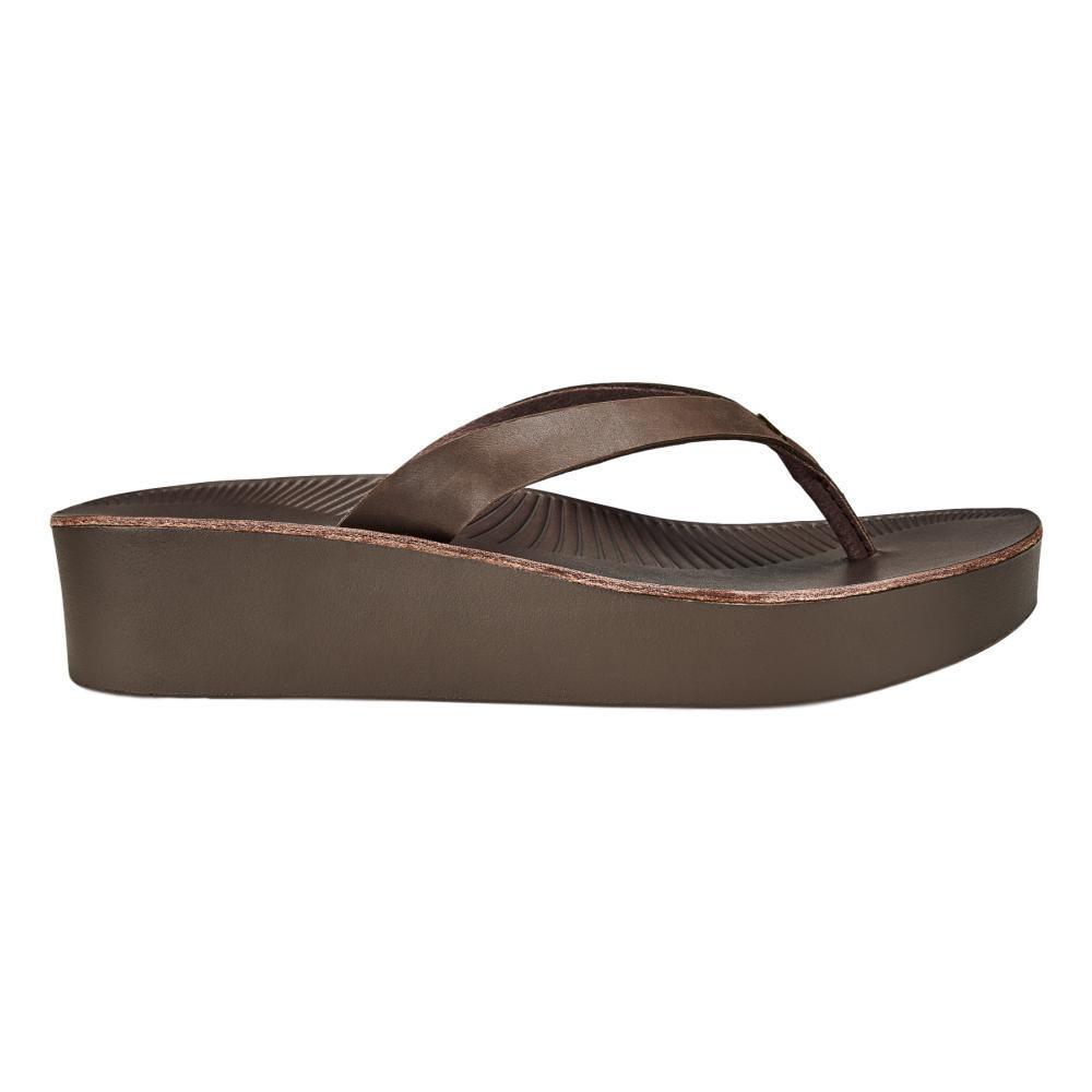 OluKai Women's Ao Loa Wedged Sandals DJAV.DJAV_4848