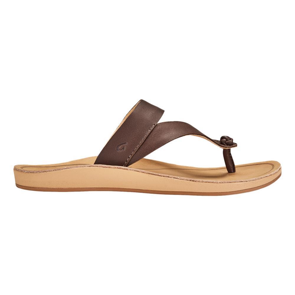 OluKai Women's Kaekae Ko'o Leather Beach Sandals KCOF.GSND_SAGS
