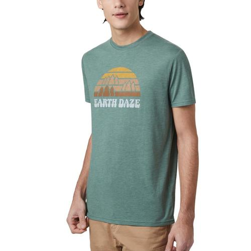 tentree Men's Earth Daze Classic T-Shirt Fores_0718