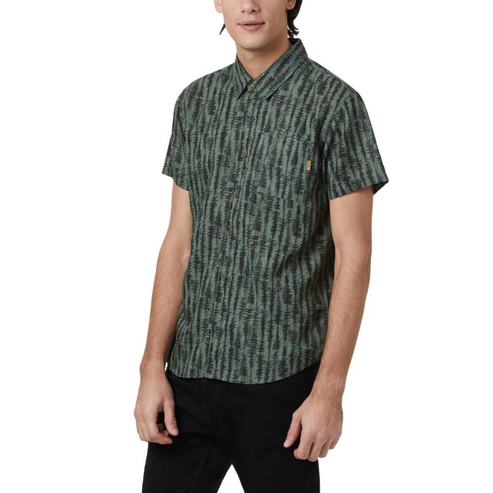 tentree Men's Hemp Short Sleeve Button Up Shirt GRNTREE_829