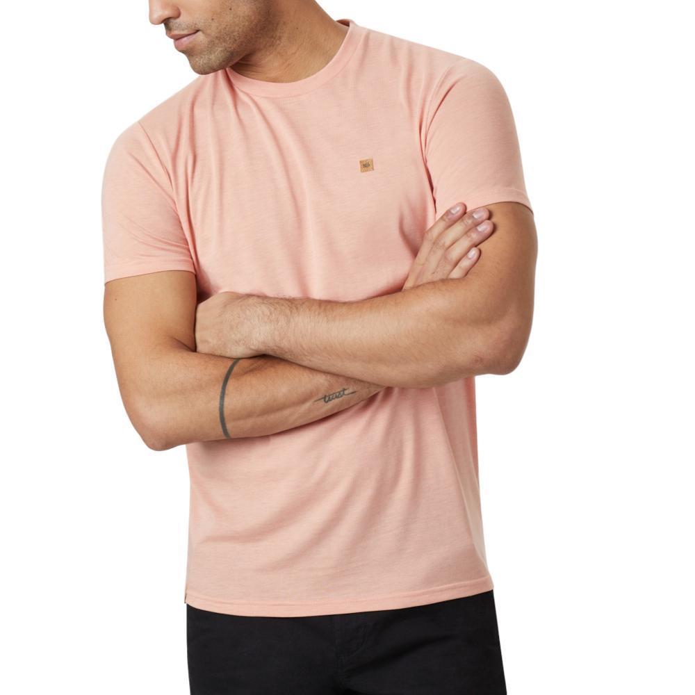 tentree Men's Classic T-Shirt ORANGE_713