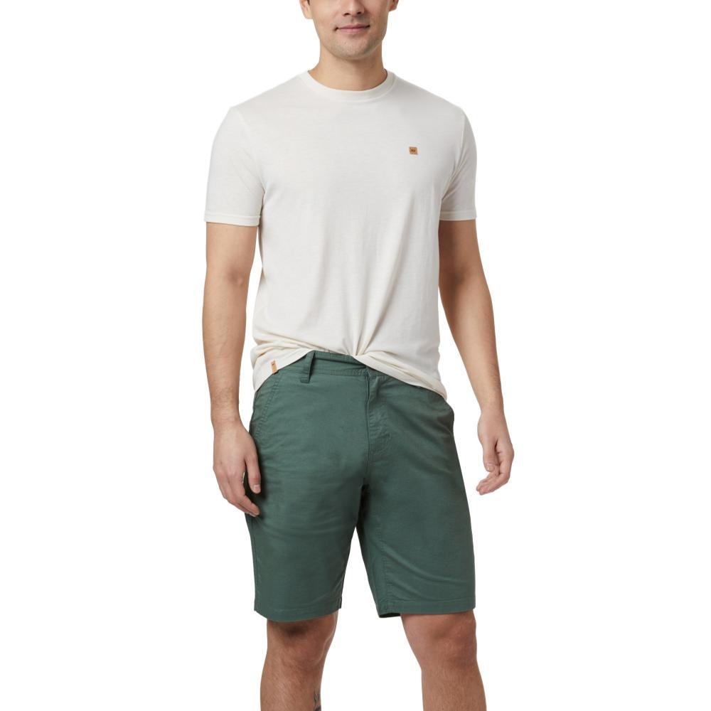 tentree Men's Preston Hemp Shorts FOREST_701