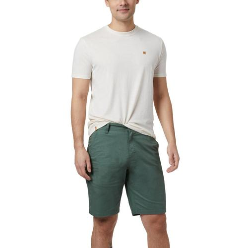tentree Men's Preston Hemp Shorts Forest_701