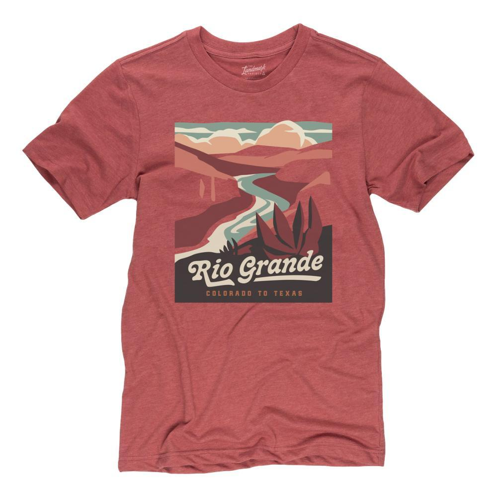 Landmark Project Unisex Rio Grande Tee POPPY