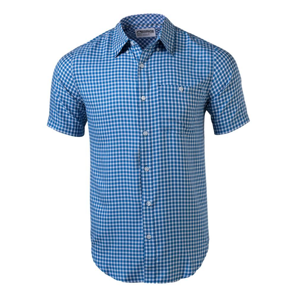 Mountain Khakis Men's Passport EC Short Sleeve Shirt INDIGO_138