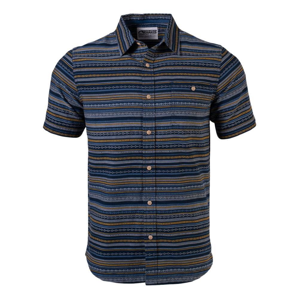 Mountain Khakis Men's Horizon Short Sleeve Shirt INDIGO_138