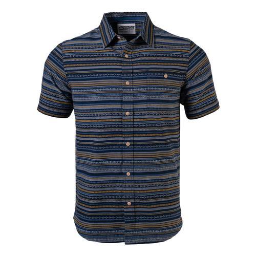 Mountain Khakis Men's Horizon Short Sleeve Shirt Indigo_138