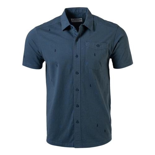 Mountain Khakis Men's YWS Short Sleeve Shirt Dusk_985