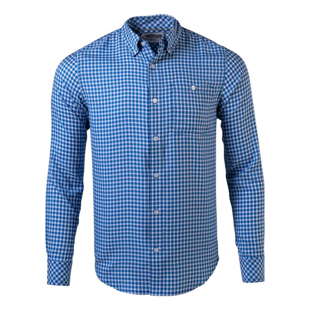 Mountain Khakis Men's Passport EC Long Sleeve Shirt INDIGO_138