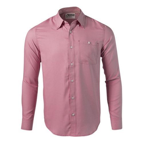 Mountain Khakis Men's Passport EC Long Sleeve Shirt Sumac_973