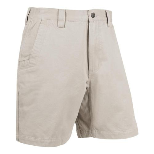 Mountain Khakis Teton Twill Short Relaxed Fit - 8in Inseam Stone_180