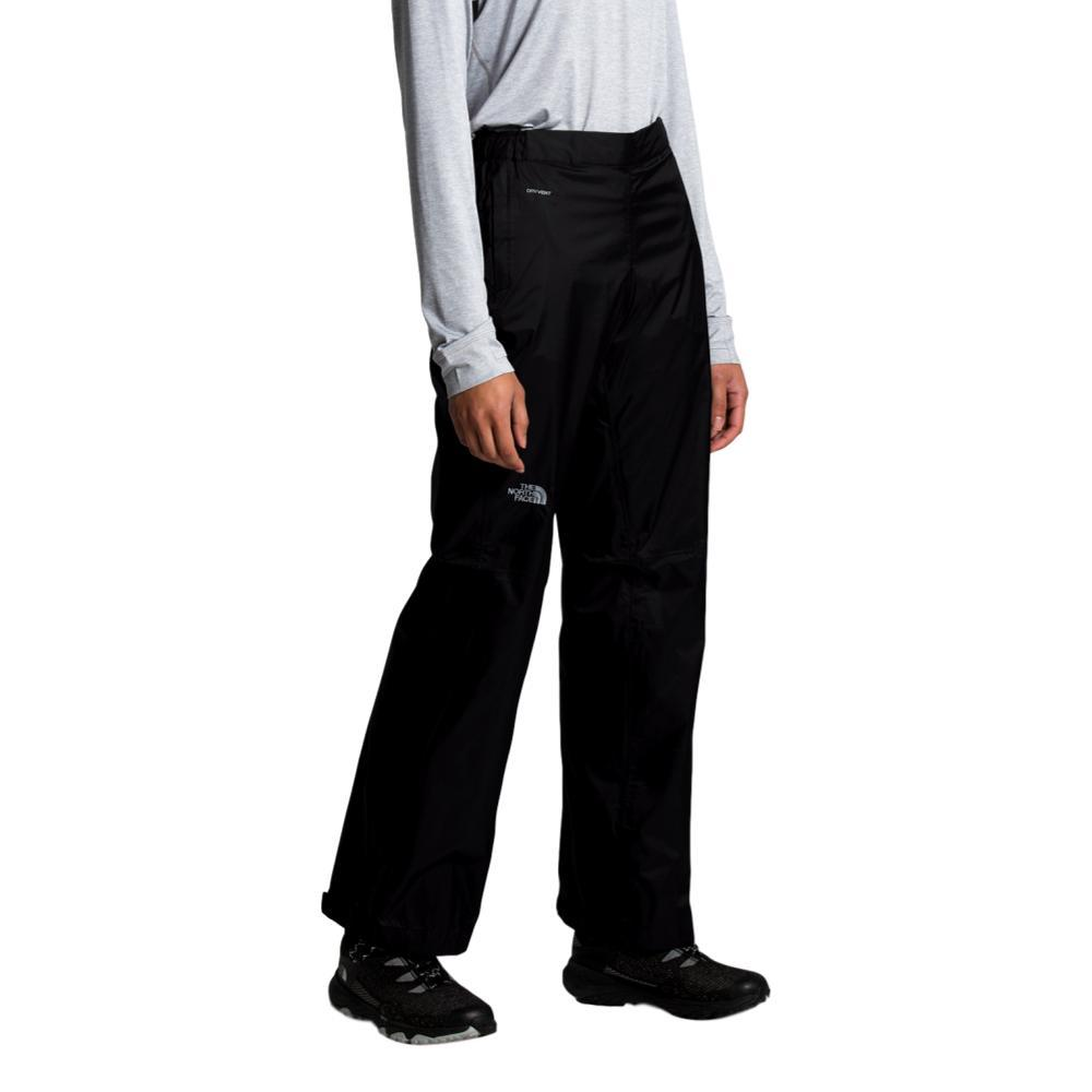 The North Face Women's Venture 2 Half Zip Pants - Short 30in Inseam BLACK_KX7