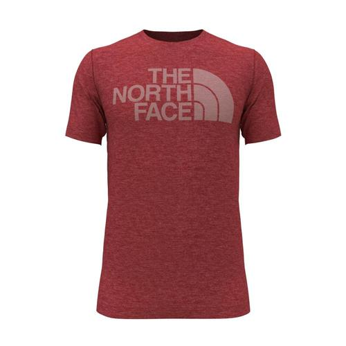 The North Face Men's Half Dome Tri-Blend Tee Rocred_x83