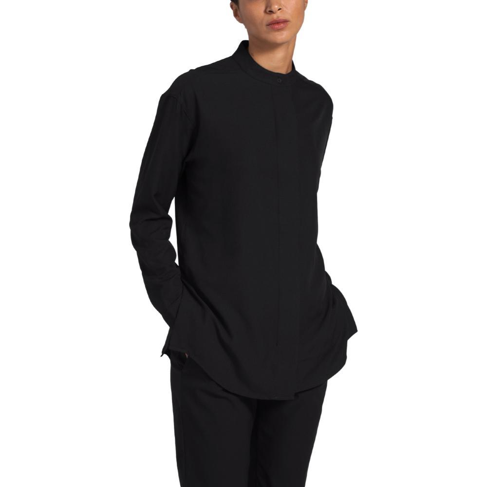 The North Face Women's Explore City BD Long Sleeve Shirt BLACK_JK3