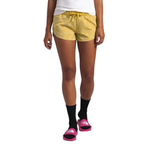 The North Face Women's Class V Mini Shorts Yellow_nmj