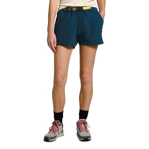 The North Face Women's Class V Hike Shorts - 6in Teal_n4l