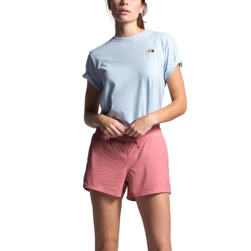 The North Face Women's Aphrodite Motion Shorts - 4in Mauve_hk4
