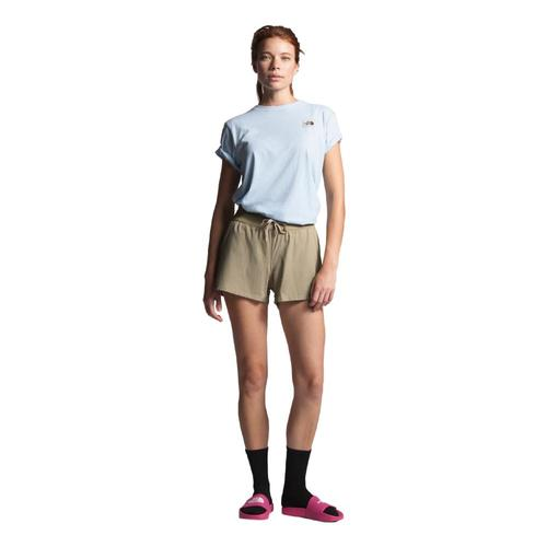 The North Face Women's Aphrodite Motion Shorts - 6in Beige_zdl