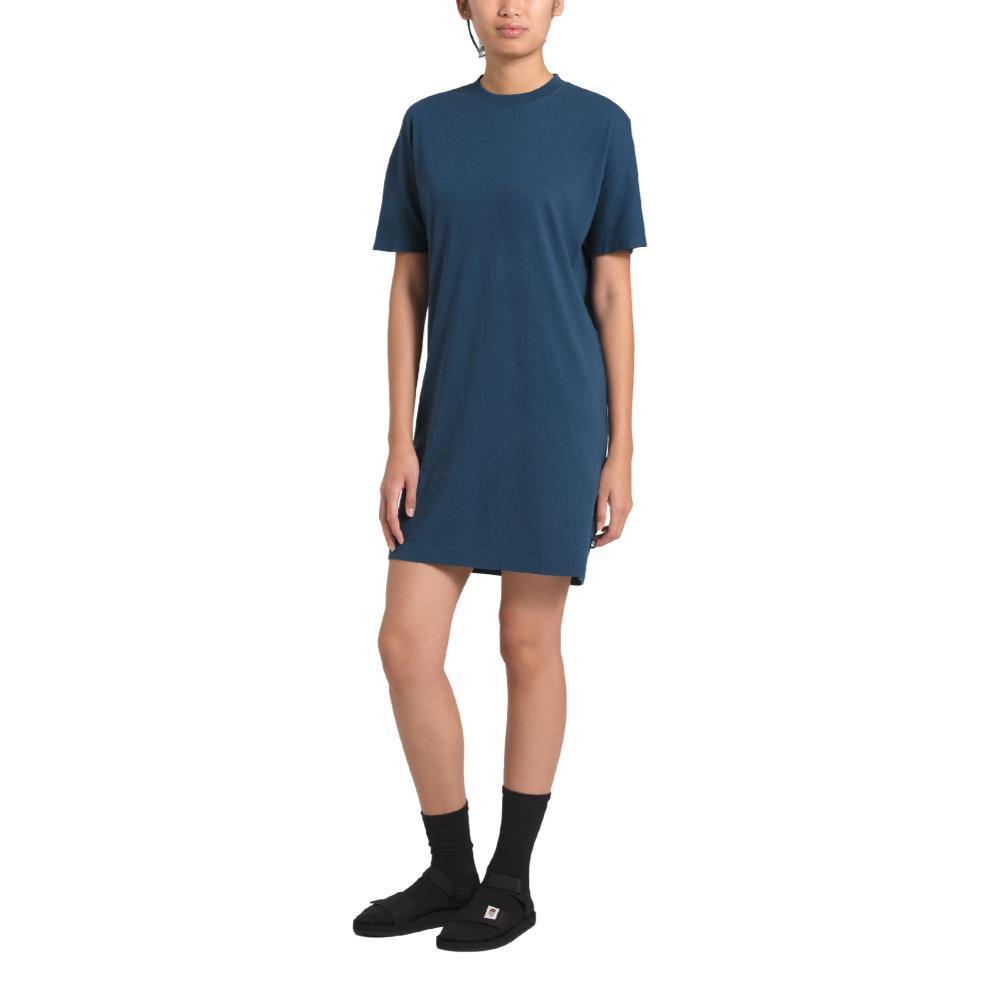 The North Face Women's Woodside Hemp Everfresh Tee Dress BLUE_HDC