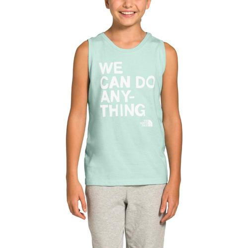 The North Face Girls Tri-Blend Tank Cstgrn_kl7