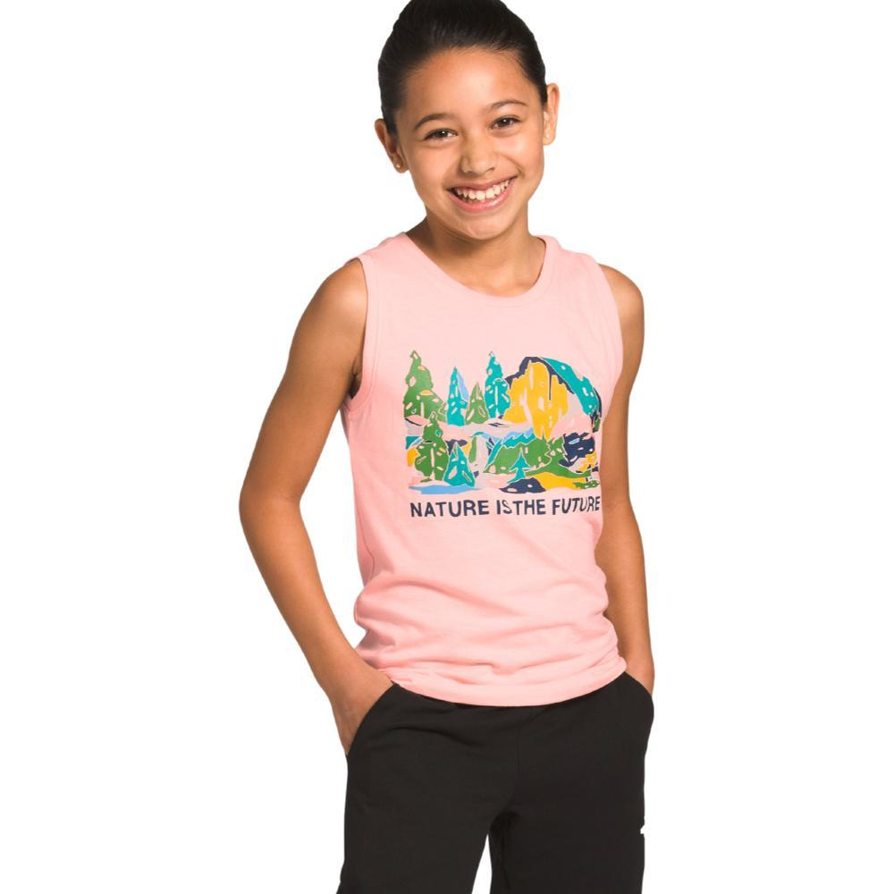The North Face Girls Tri-Blend Tank PINK_KM1
