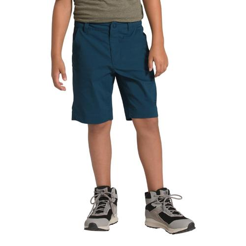 The North Face Boys Spur Trail Shorts Bluteal_n4l