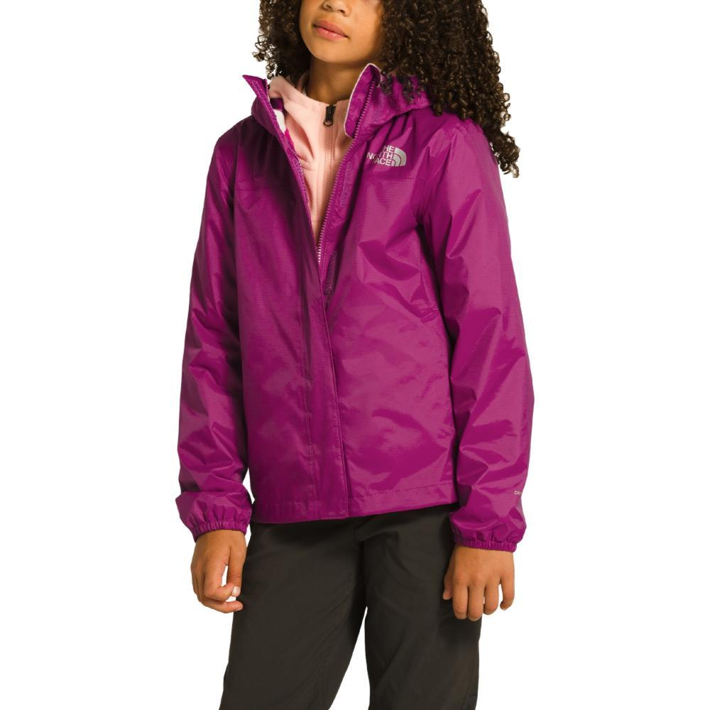 The North Face Girls Resolve Reflective Jacket PURPLE_ZDN
