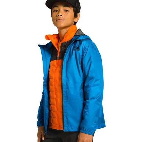 The North Face Kids Zipline Rain Jacket Clblue_w8g
