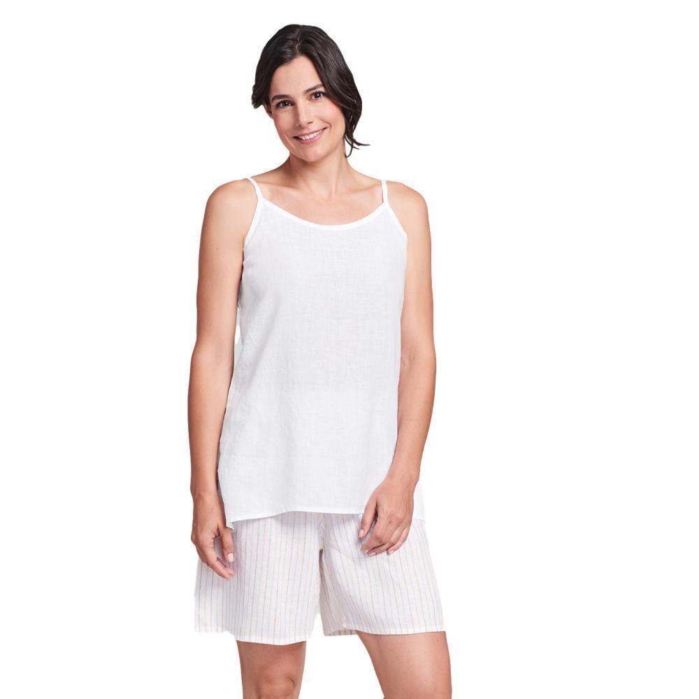 FLAX Women's Late Night Cami WHITE