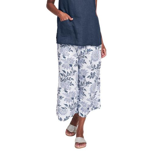 FLAX Women's Generous Bloom Pants Bluenightflr