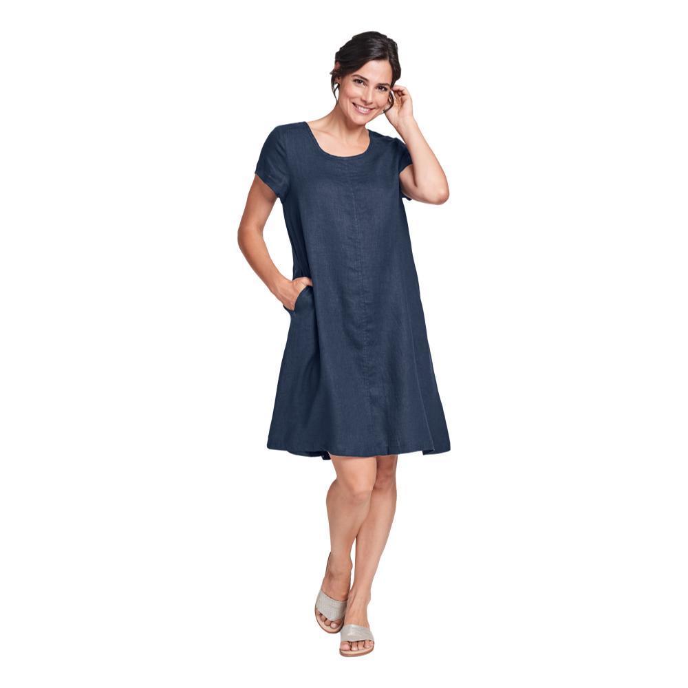 FLAX Women's Generous Garden Party Dress BLUENIGHT