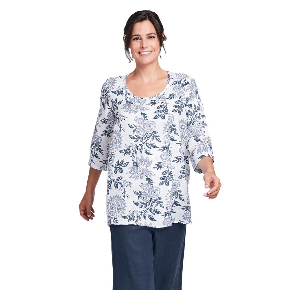 FLAX Women's Tucked Tunic Top BLUENIGHTFLR