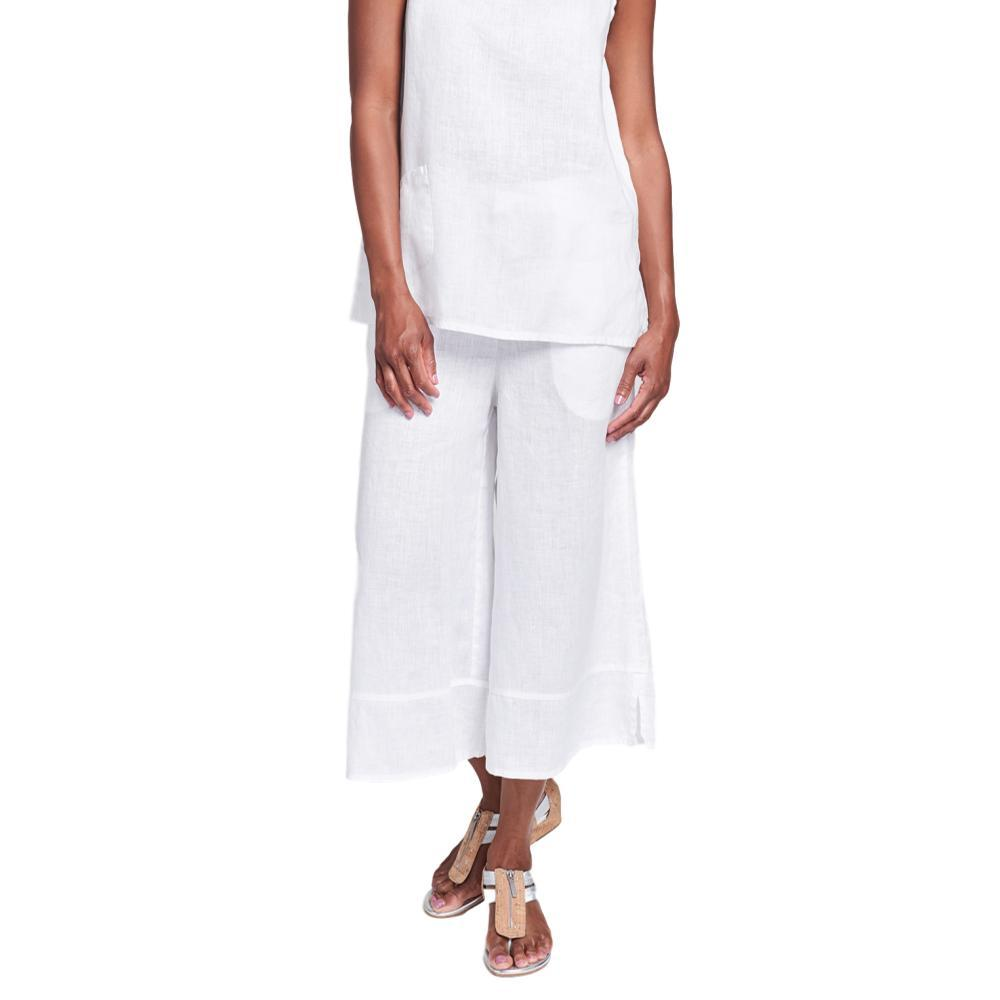 FLAX Women's Bloom Pants WHITE