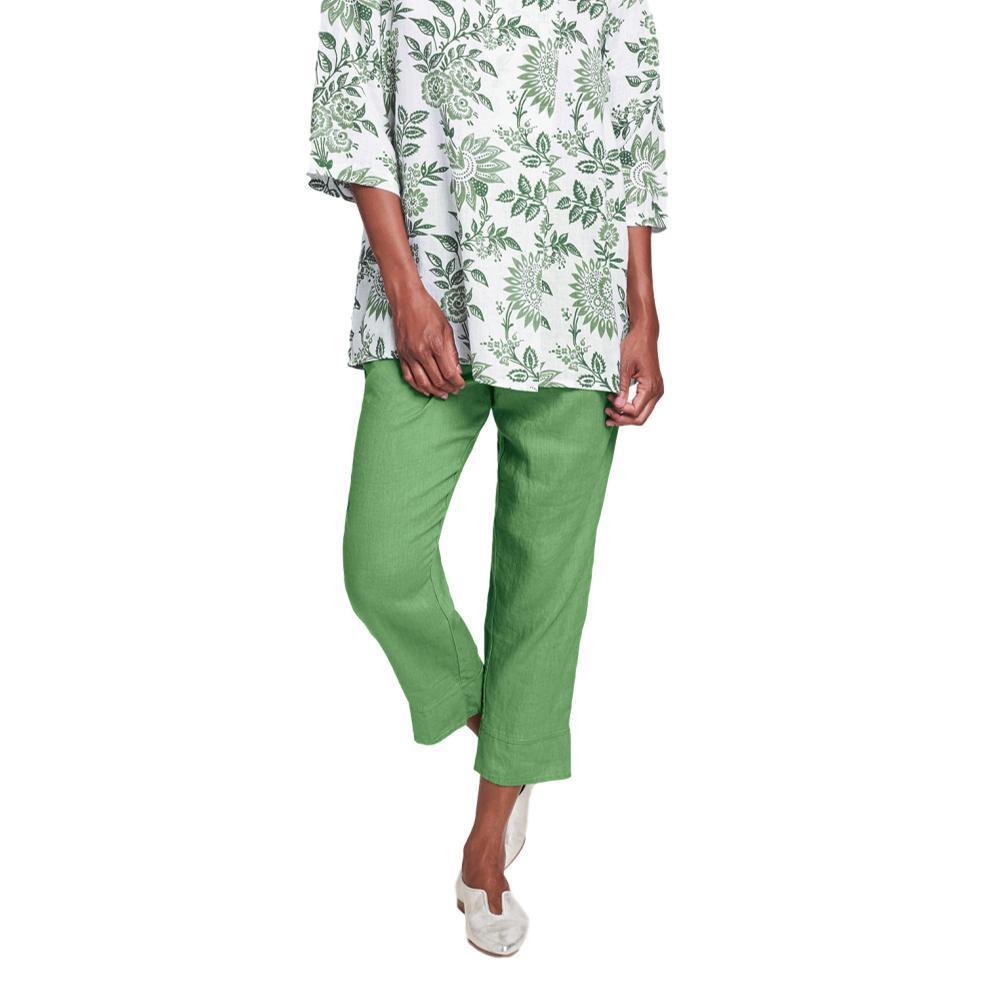 FLAX Women's Garden Crop Pants IVY