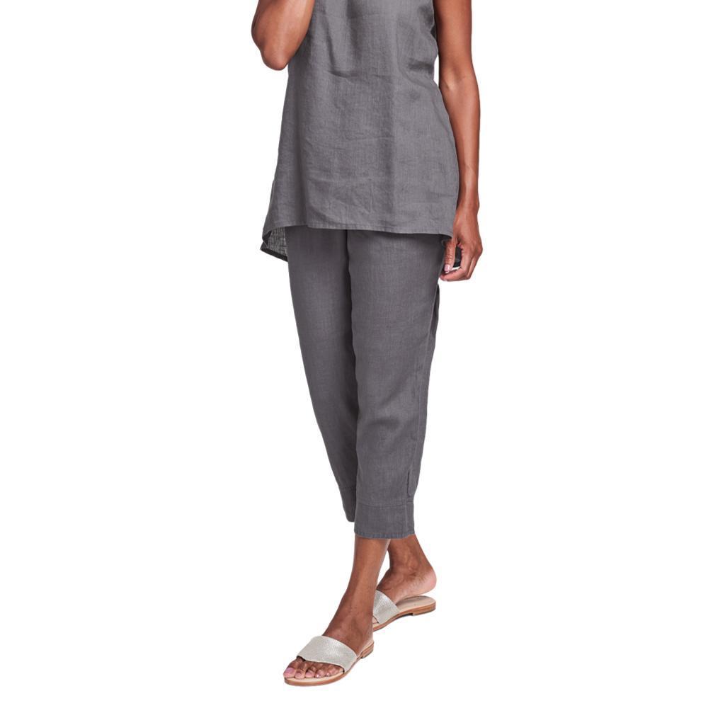 FLAX Women's Garden Crop Pants PEWTER