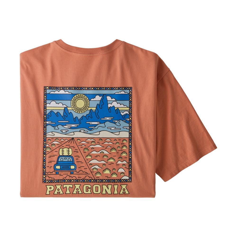 Patagonia Men's Summit Road Organic Cotton T-Shirt MELON_MEMN