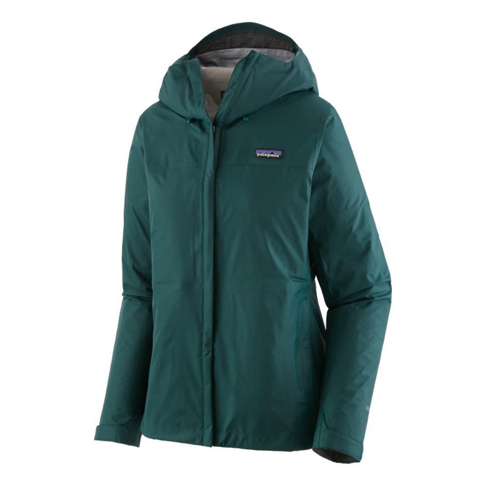 Patagonia Women's Torrentshell 3L Jacket GREEN_DBGR