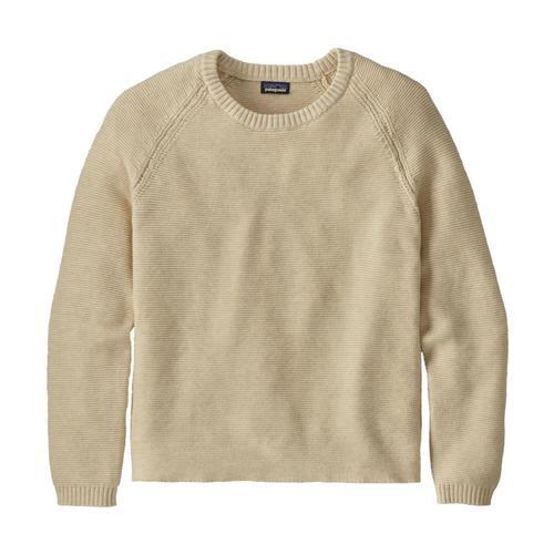Patagonia Women's Long-Sleeved Organic Cotton Spring Sweater White_whwa