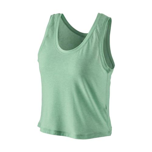 Patagonia Womens Glorya Twist Tank Top Green_gypg