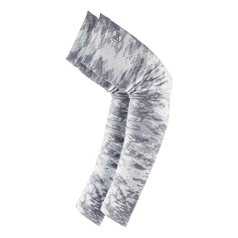 BUFF Original UV+ Arm Sleeves Large - Camo White PELACWHITE