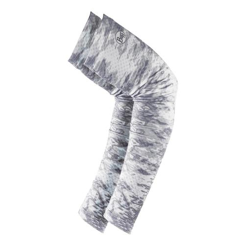 BUFF Original UV+ Arm Sleeves XLarge - Camo White Pelacwhite