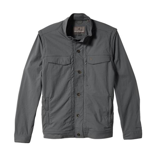 Royal Robbins Men's Traveler Convertible Jacket II Charcoal_18